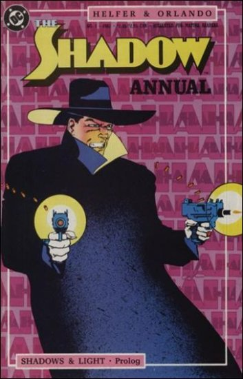SHADOW ANNUAL #1 VF/NM 1987 SERIES