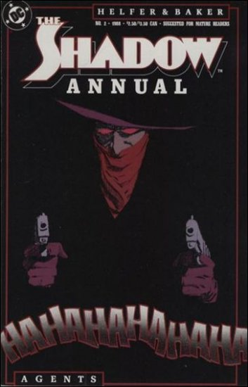 SHADOW ANNUAL #2 VF 1987 SERIES