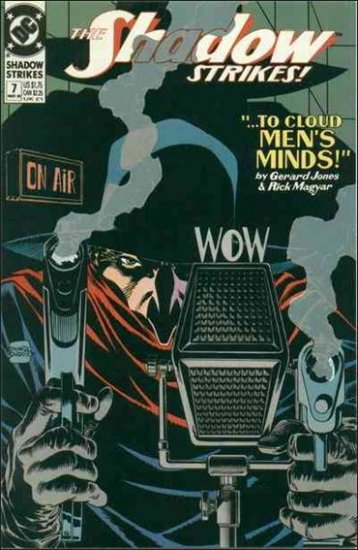 SHADOW STRIKES #7 VF/NM 1989 SERIES