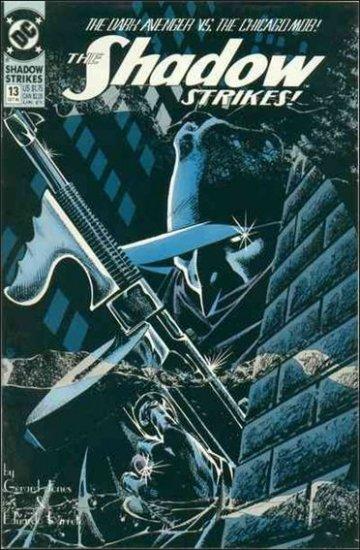 SHADOW STRIKES #13 VF/NM 1989 SERIES