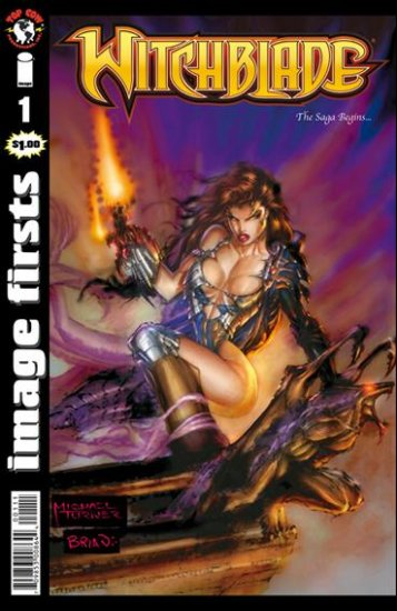IMAGE FIRSTS WITCHBLADE #1 VF/NM