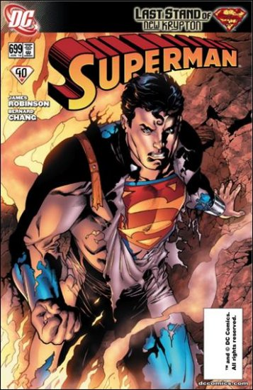 SUPERMAN #699 NM (2010) LAST STAND OF NEW KRYPTON