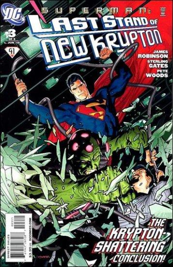 SUPERMAN: LAST STAND OF NEW KRYPTON #3 NM (2010)