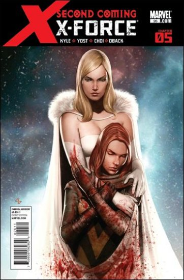 X-FORCE #26 VF/NM (2010) SECOND COMING CHAPTER 5