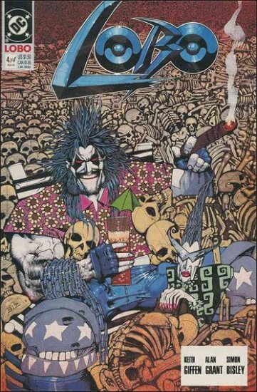 LOBO #4 VF/NM (1990)