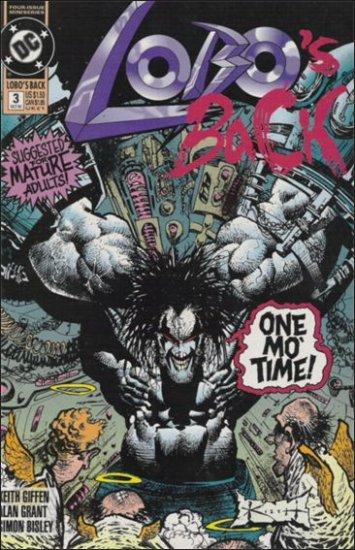 LOBO'S BACK #3 VF/NM (1992)