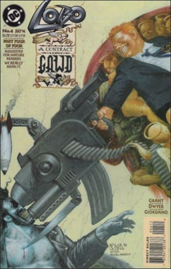LOBO A CONTRACT WITH GAWD #4 VF/NM