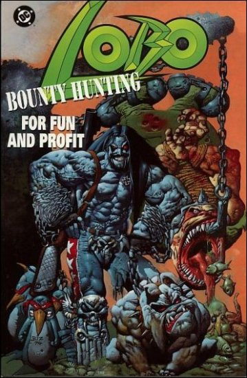 LOBO BOUNTY HUNTING FOR FUN AND PROFIT ONE-SHOT VF/NM