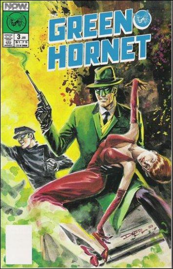 GREEN HORNET #3 VF NOW COMICS VOL 1