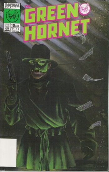 GREEN HORNET #10 VF/NM NOW COMICS VOL 1