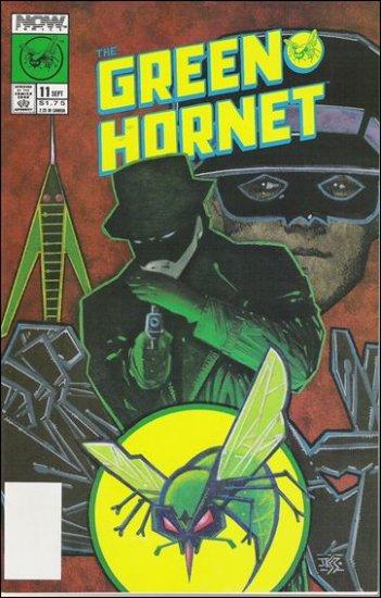 GREEN HORNET #11 VF/NM NOW COMICS VOL 1