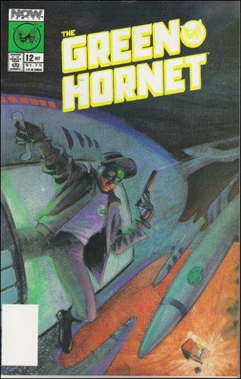 GREEN HORNET #12 VF/NM NOW COMICS VOL 1