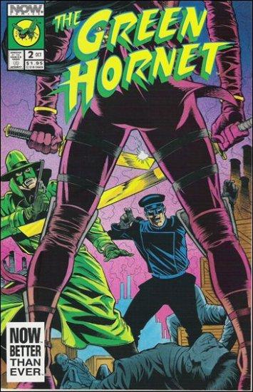 GREEN HORNET #2 VF/NM NOW COMICS VOL 2