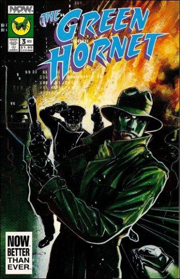 GREEN HORNET #3 VF/NM NOW COMICS VOL 2
