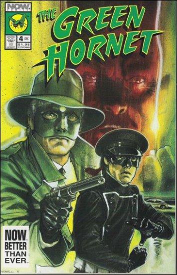 GREEN HORNET #4 VF/NM NOW COMICS VOL 2