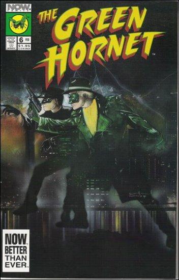 GREEN HORNET #6 NOW COMICS VOL 2