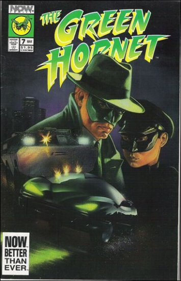 GREEN HORNET #7 VF/NM NOW COMICS VOL 2