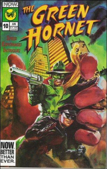 GREEN HORNET #10 VF/NM NOW COMICS VOL 2