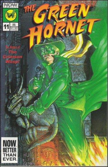 GREEN HORNET #11 VF/NM NOW COMICS VOL 2