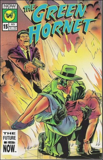 GREEN HORNET #15 VF/NM NOW COMICS VOL 2
