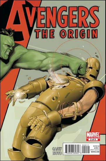 AVENGERS THE ORIGIN #2 NM (2010)