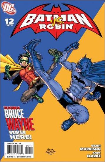 BATMAN AND ROBIN #12 NM (2010) *RETURN OF BRUCE WAYNE!*