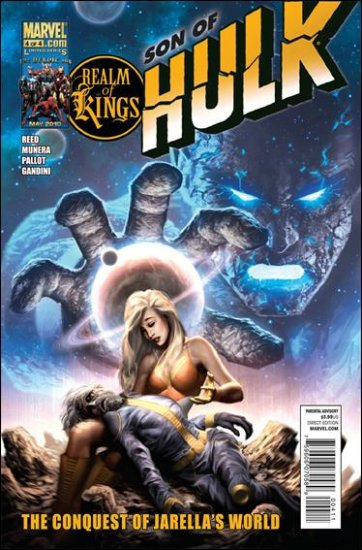 REALM OF KINGS SON OF HULK #4 VF/NM (2010)