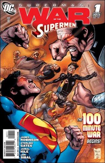 SUPERMAN: WAR OF THE SUPERMAN #1 NM (2010)