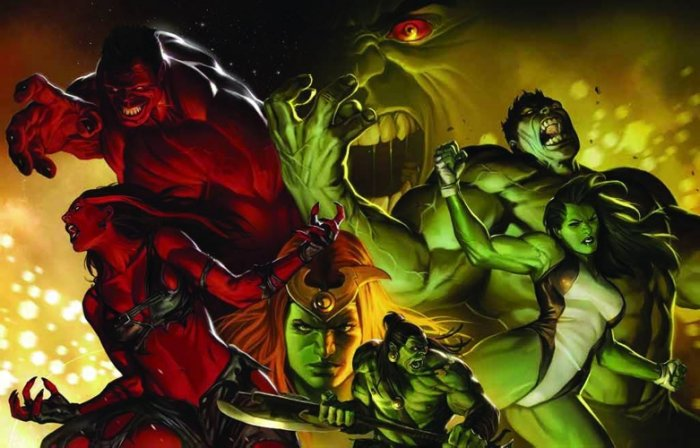 "FALL OF THE HULKS (Marko Djurdjevic) 36""x24"" POSTER 2010"