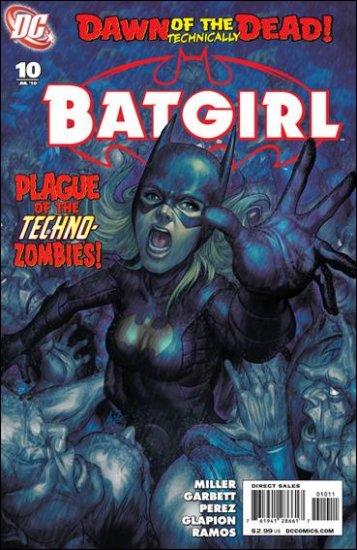 BATGIRL #10 NM (2010)