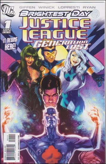 JUSTICE LEAGUE: GENERATION LOST #1 NM (2010) **BRIGHTEST DAY**
