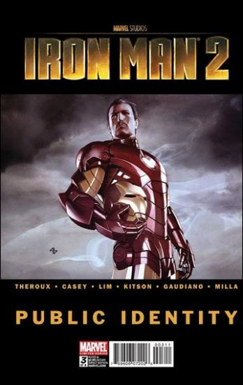 IRON MAN 2: PUBLIC IDENTITY #3 VF/NM (2010)