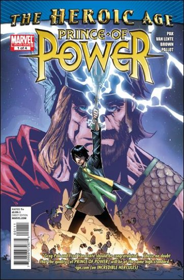 HEROIC AGE: PRINCE OF POWER #1 NM (2010)