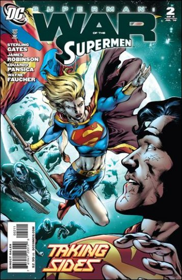 SUPERMAN: WAR OF THE SUPERMAN #2 NM (2010)