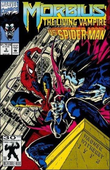 MORBIUS #3 VF/NM SPIDER-MAN