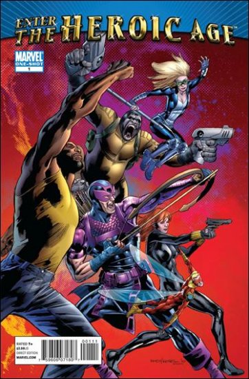 ENTER THE HEROIC AGE #1 NM (2010)