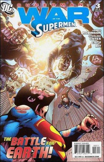 SUPERMAN: WAR OF THE SUPERMAN #3 NM (2010)