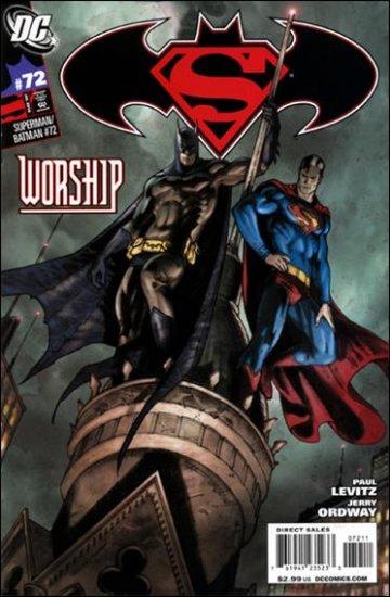 SUPERMAN BATMAN #72 NM (2010)