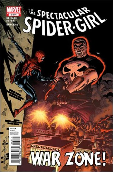 SPECTACULAR SPIDER-GIRL  #2 NM (2010)