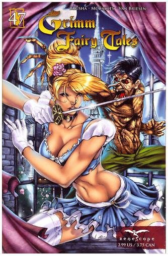 """GRIMM FAIRY TALES #47 NM  """"COVER A"""" *ZENOSCOPE*"""