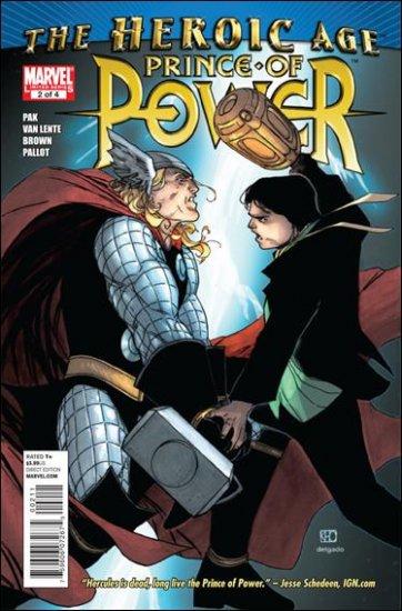 HEROIC AGE: PRINCE OF POWER #2 NM (2010)