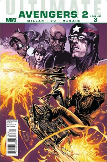 ULTIMATE COMICS AVENGERS 2 #3 NM (2010)