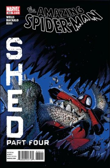 AMAZING SPIDER-MAN #633 NM (2010) SHED PART 4