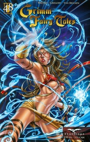 """GRIMM FAIRY TALES #48 NM  """"COVER A"""" *ZENOSCOPE*"""