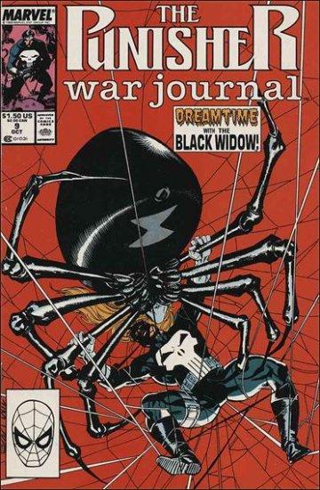 PUNISHER WAR JOURNAL #9 VF/NM  (1988)