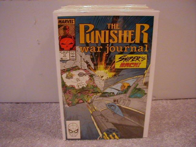 PUNISHER WAR JOURNAL #10 VF/NM  (1988)