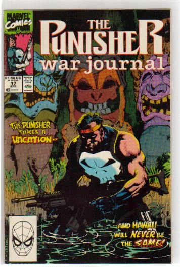 PUNISHER WAR JOURNAL #17 VF/NM  (1988)