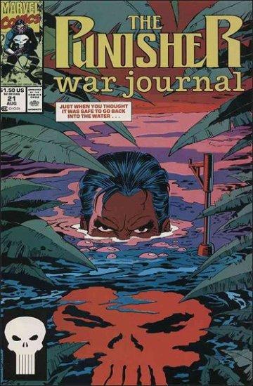 PUNISHER WAR JOURNAL #21 VF/NM  (1988)