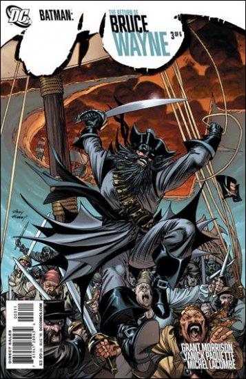 BATMAN: RETURN OF BRUCE WAYNE #3 NM (2010)