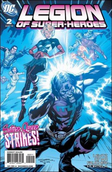 LEGION OF SUPER-HEROES#2 NM (2010)